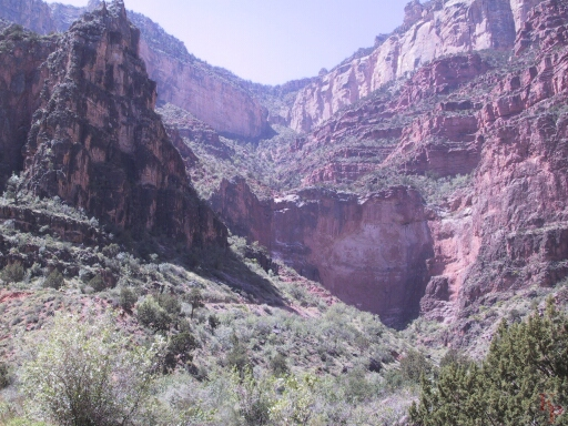 Grand Canyon, Indian Gardens, Bright Angel Trail