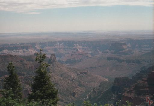 Grand Canyon, Painted Desert View, Imperial Point, North Rim