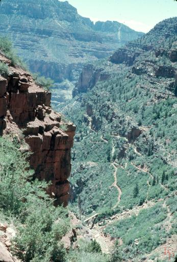 Grand Canyon, North Kaibab Trail, Bridge