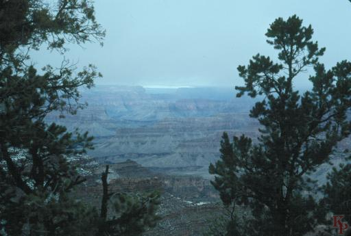 Grand Canyon, Views from Thunderbird Lodge, Grand Canyon Village
