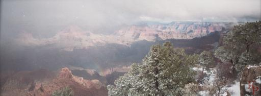 Grand Canyon, Mather Point, Winter