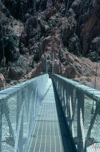 Grand Canyon, Silver Bridge, Colorado River, Phantom Ranch